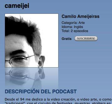 cameijei en iTunes